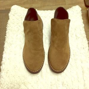 Suede brown boots!